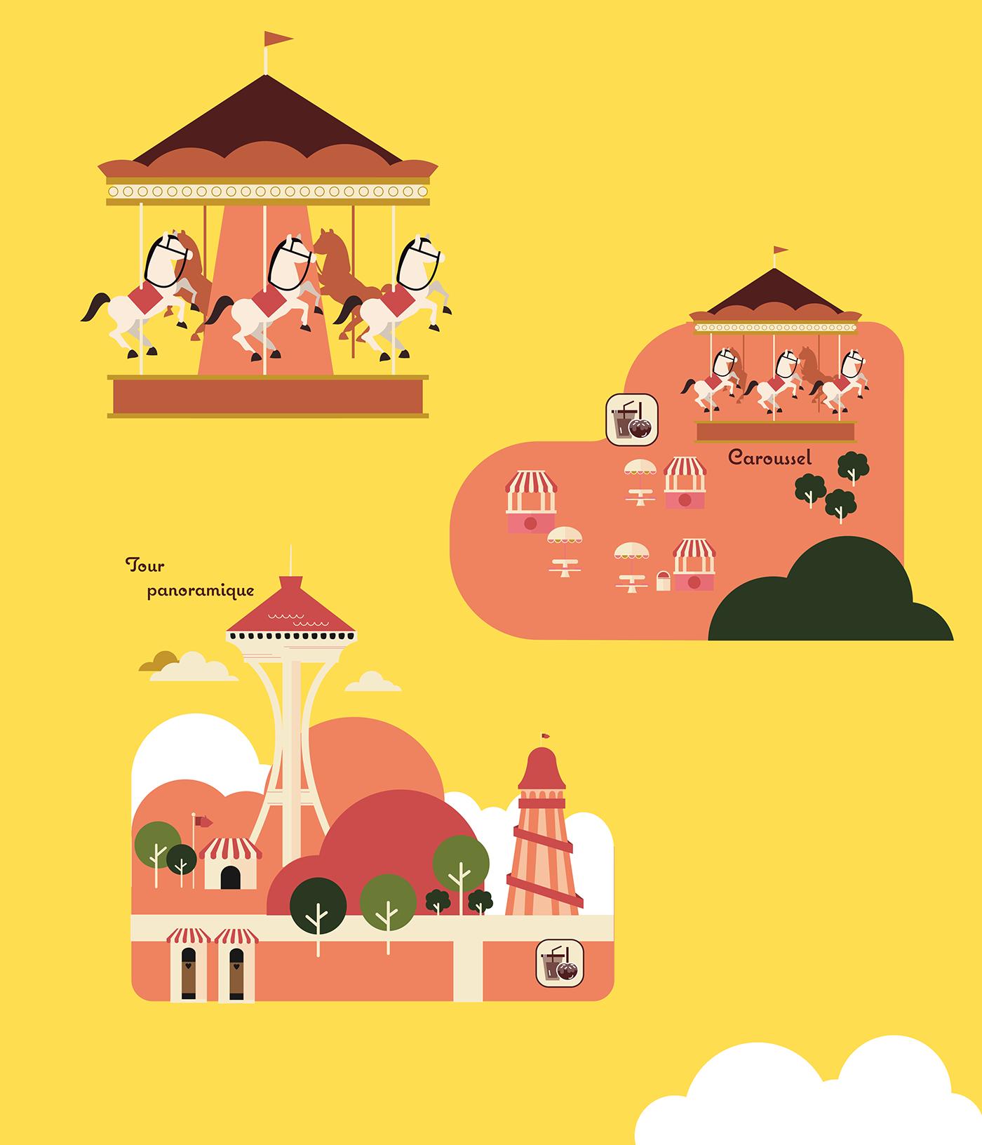 amusement park plan example
