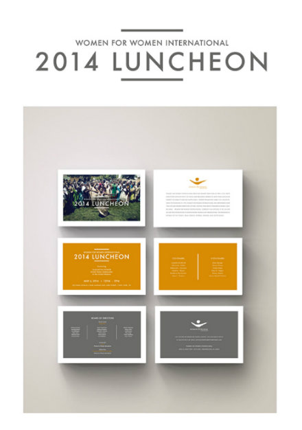 annual luncheon event invitation