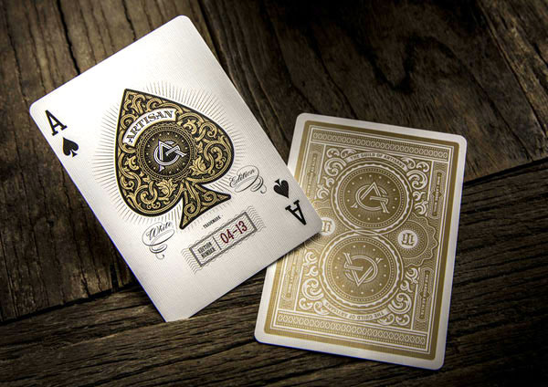 artisan playing cards example
