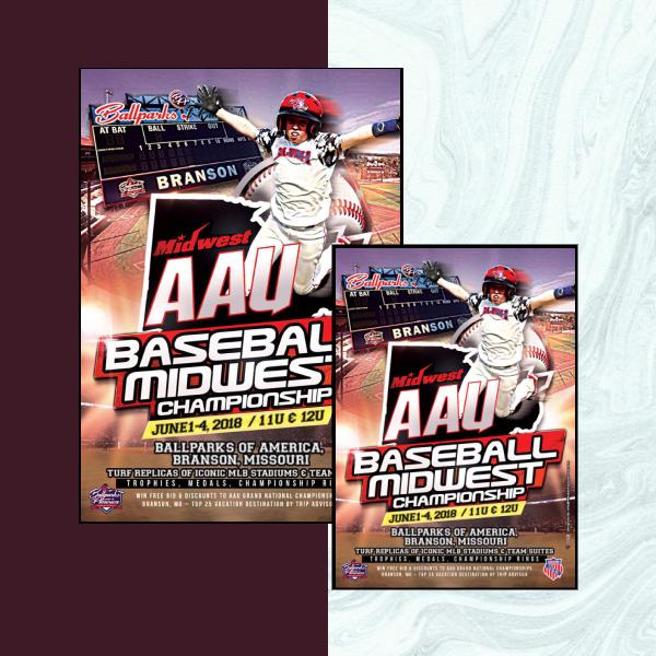 baseball championship sports flyer