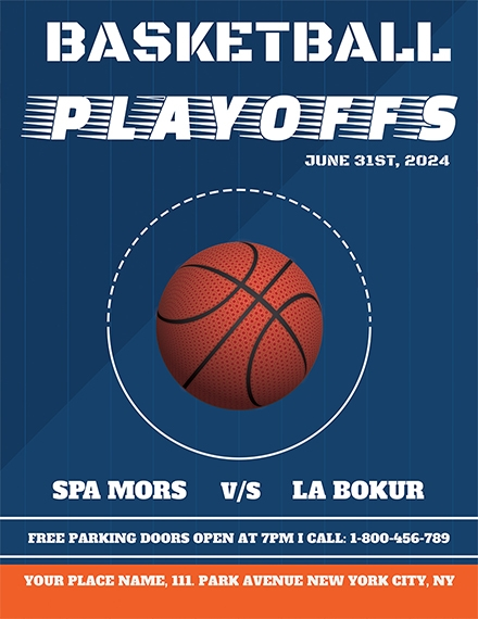 basketball flyer sample