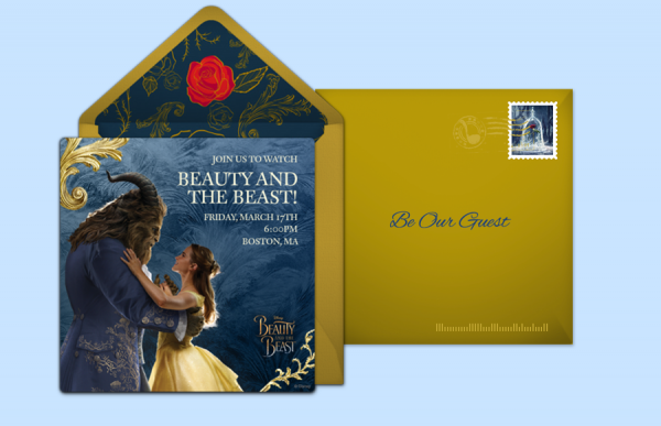 beauty and the beast party invitation e1540346077724