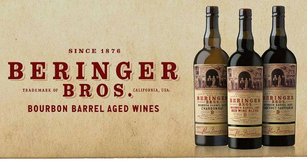 beringer brothers wine label