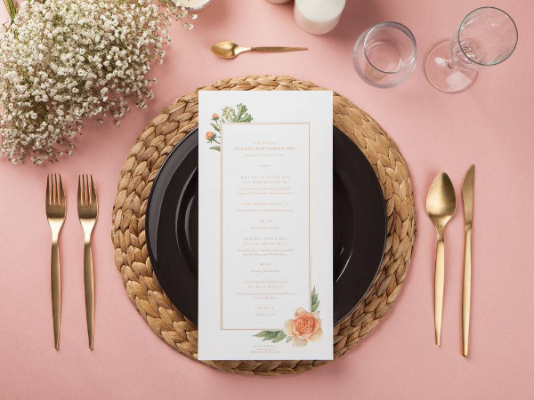 Blooming-Bouquet-Menu-Card-Example1