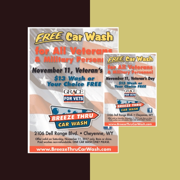 breeze thru car wash flyer
