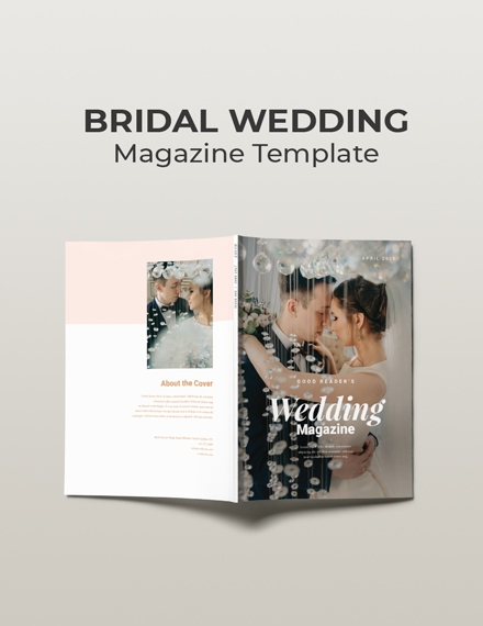 Bridal Wedding Magazine Sample
