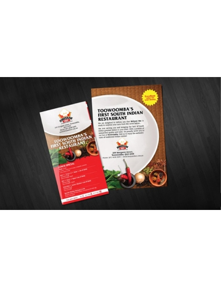 brochure advertising design example