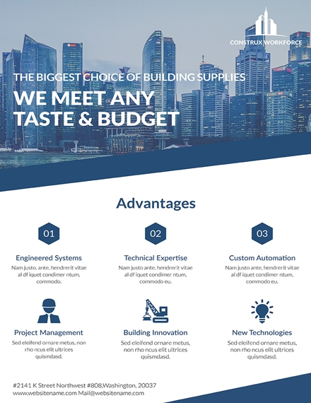 Business Architecture Poster Template