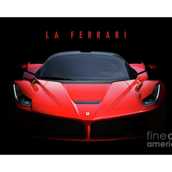 Business Ferrari Poster