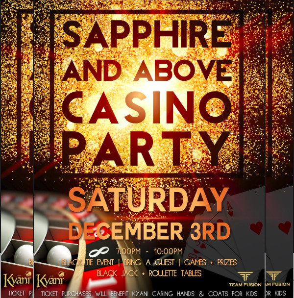 casino event flyer