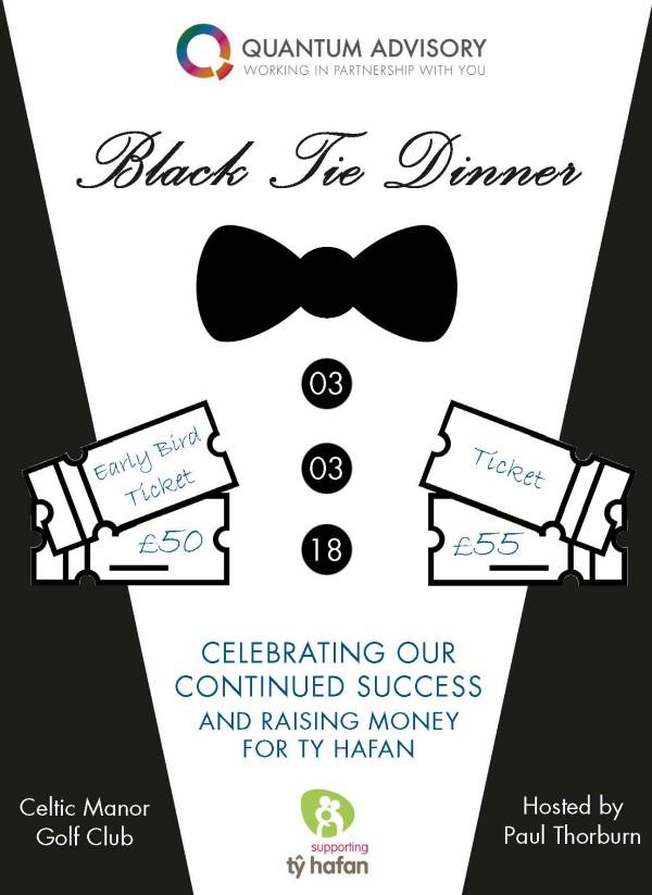 charity dinner invitation