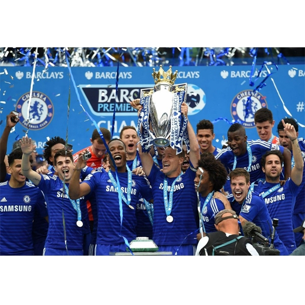 Chelsea FC Champions Sports Poster