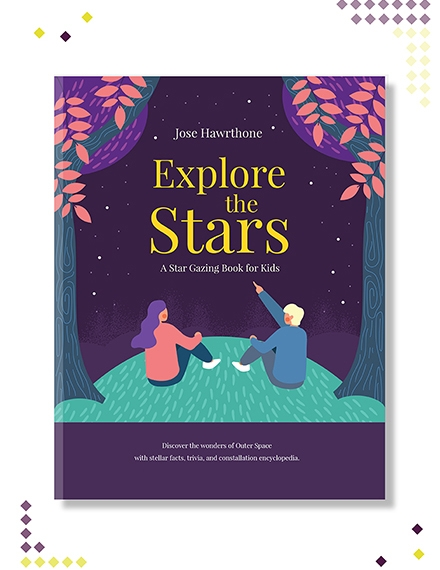 childrens education book cover template