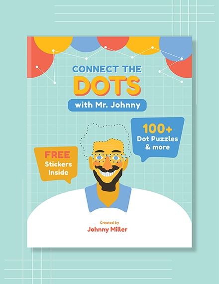 Childrens Funny Book Cover Template