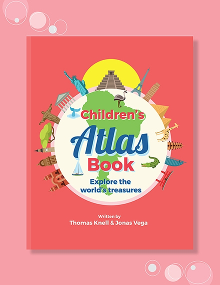 childrens non fiction book cover template