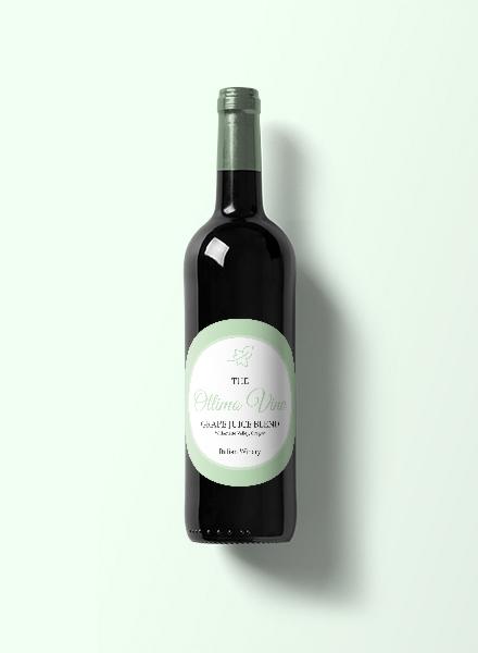 circles wine label