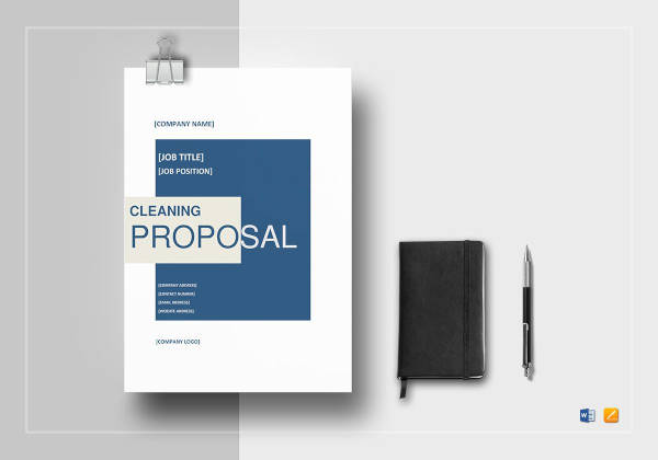 7+ Cleaning Proposal Examples and Samples - PDF, Word, Pages