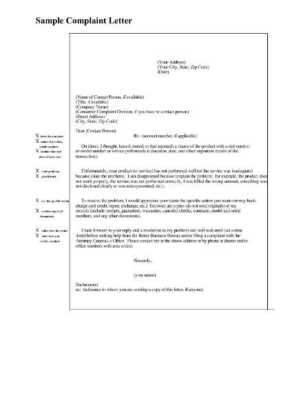 complaint letter1