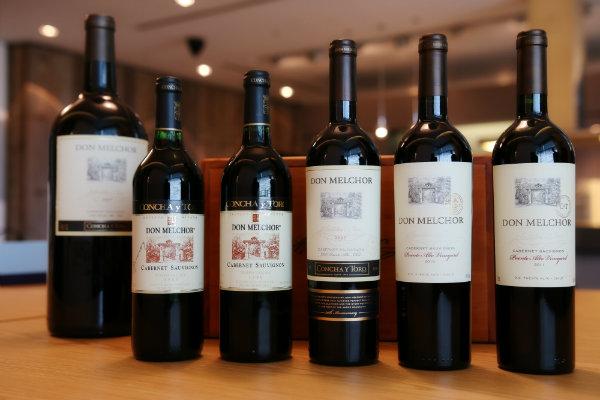 concha y toro wine label