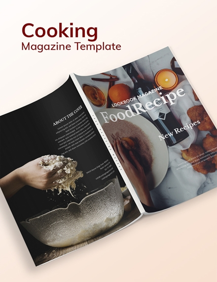 Cooking Magazine Design