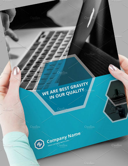 corporate business brochure sample