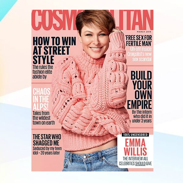 cosmopolitan magazine cover sample