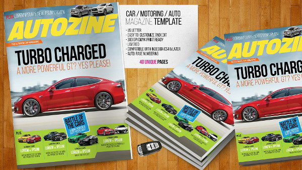 creative car magazine example1