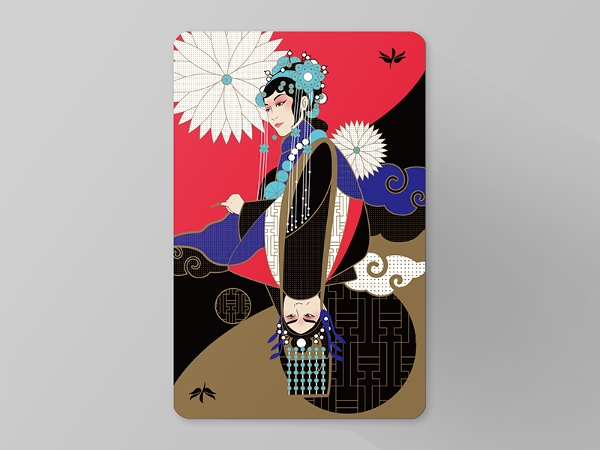 Creative Membership Card Illustration
