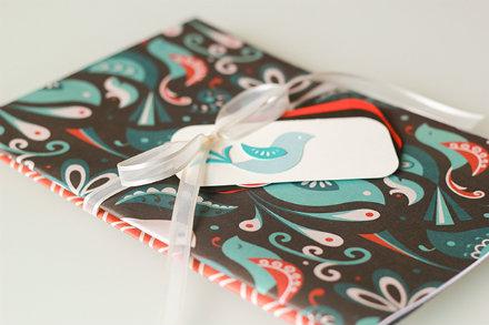 custom birdie gift tag