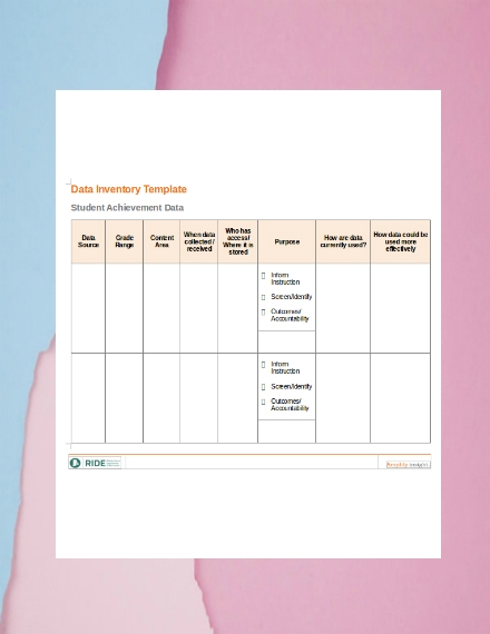 data inventory template2