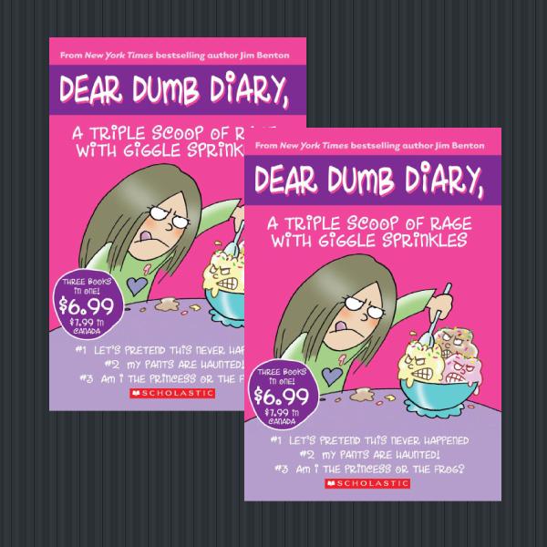 Dear Dumb Diary Children's Book Cover