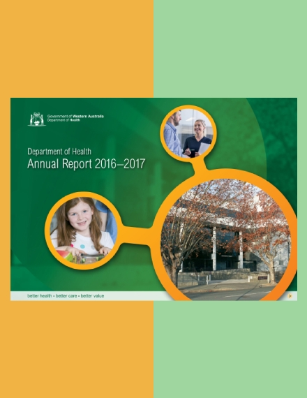 department of health annual report