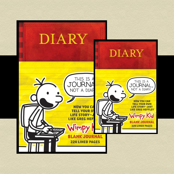 Diary of a Wimpy Kid Children's Book Cover