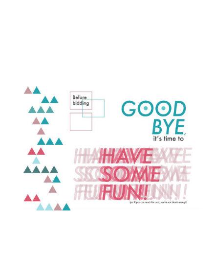 disco farewell party invitation example