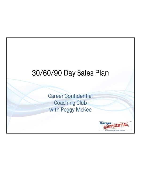 discussion on 90 day sales plan example1
