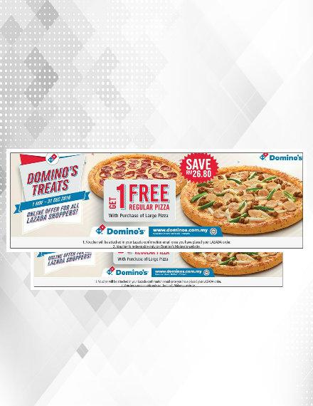 domino's pizza voucher