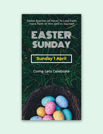 easter sunday snapchat geofilter sample