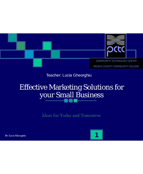 effective marketing solutions for your small business1