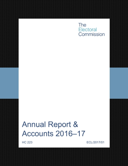 electoral commission annual report