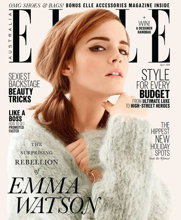 elle magazine example