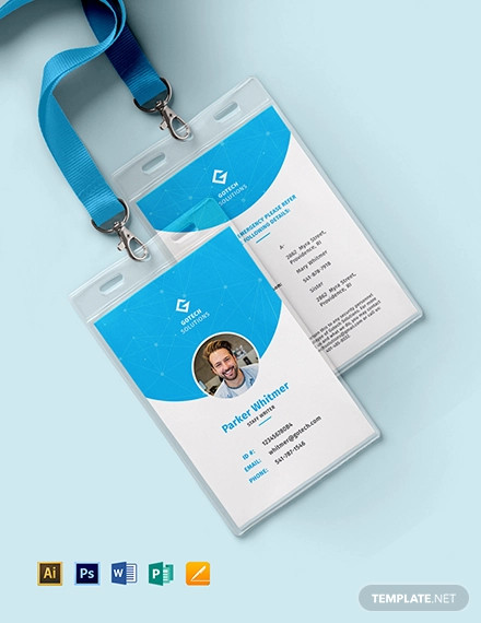 30 Id Card Examples In Psd Ai Ms Word Publisher Pages Examples