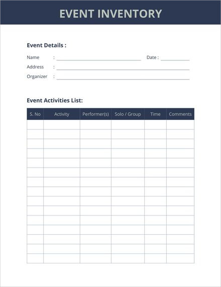 event inventory template1