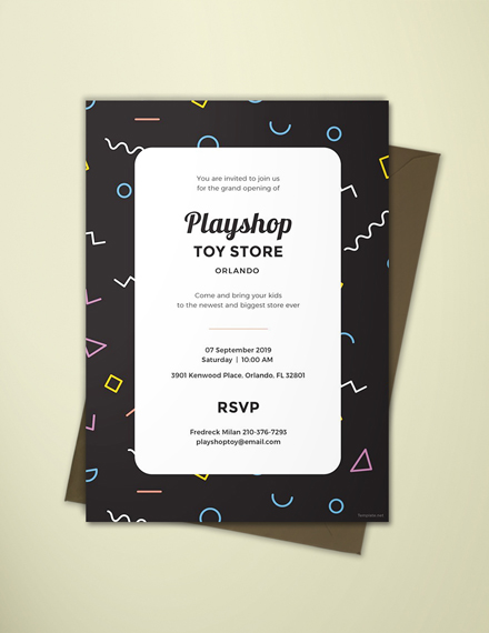 event invitation design