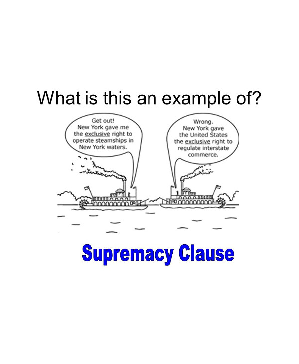 example of supremacy clause1