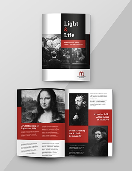 exhibition catalog template