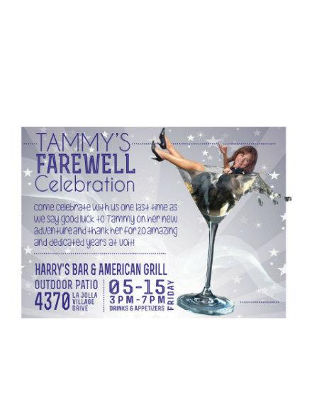 farewell celebration invitation example