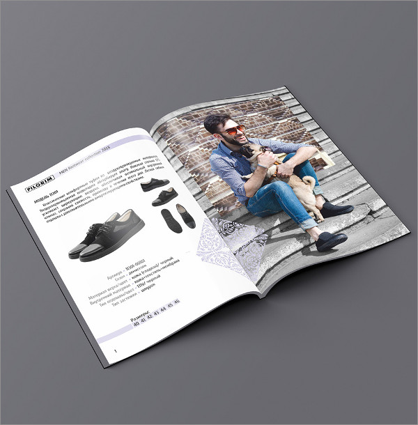 fashion magazine catalog example