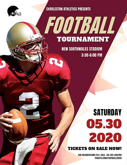football tournament flyer sample