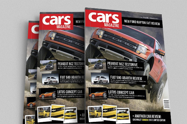 ford cover car magazine example1