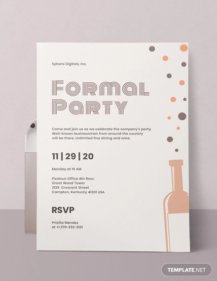 Formal Dinner Invitation Template from images.examples.com